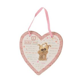 Boofle I Love You Plaque
